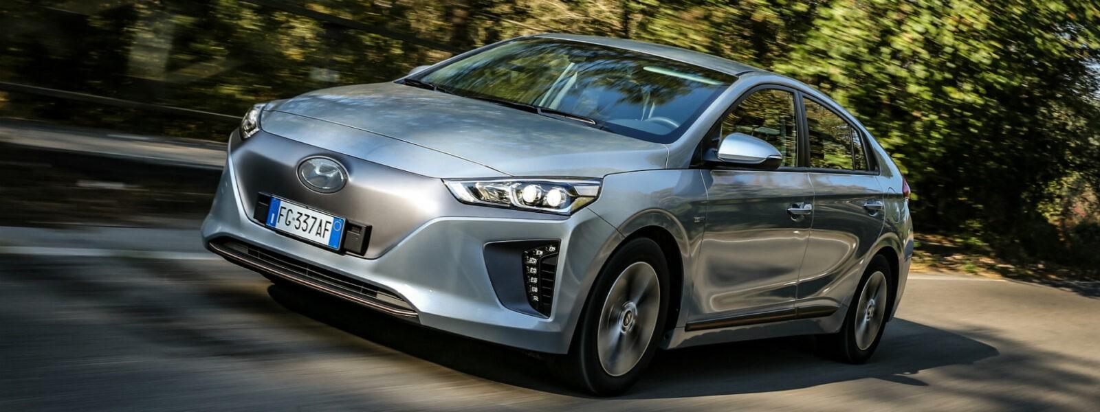 Hyundai IONIQ Electric una delle auto più ecologiche